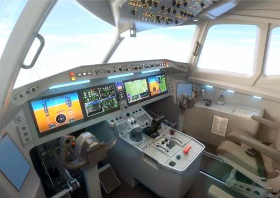 AVIC Xian MA700 cockpit