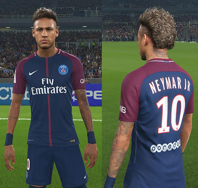 Ultigamerz Neymar Tattoos For PES 2018 DLC 10
