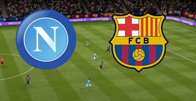 مشاهدة مباراة برشلونة ونابولي بث مباشر كورة اون لاين