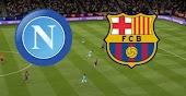 نتيجة مباراة برشلونة ونابولي بث مباشر كورة اون لاين