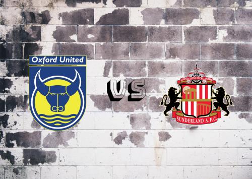 Oxford United vs Sunderland  Resumen
