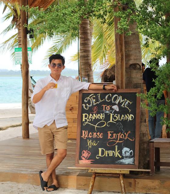 Asiknya Liburan Menginap di Pulau Ranoh Batam