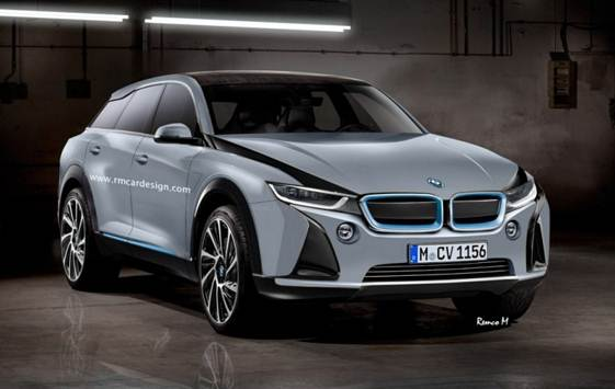 BMW i6 Crossover Pops-Up in New Renderings