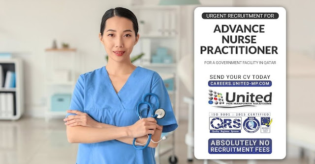 Advance Nurse Practitioner (for a Government Facility in Qatar)