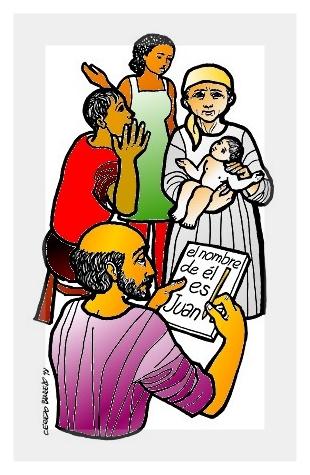 Resultado de imagen para imagenes del nacimiento de juan el bautista para niños