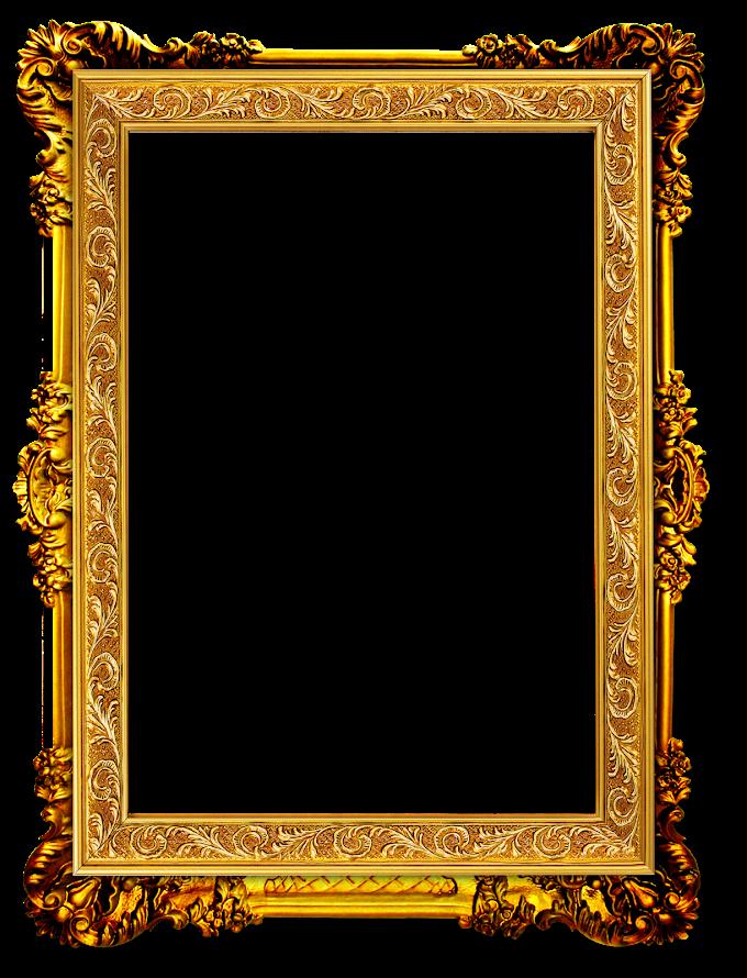 Frame Gold frame, Gold Frame, rectangular brown ornate frame, frame, golden Frame, trendy Frame free png