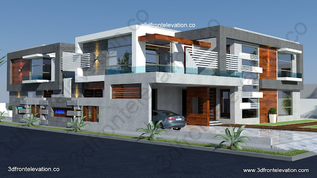 Pictore Of Elevation Of Big House Best Interior Furniture