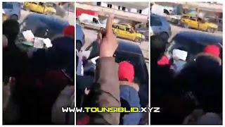 (بالفيديو) الاعتداء على سيارة وفد من وزارة الصحة ومنعها من دخول مستشفى جندوبة؟
