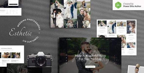 Best Wedding Photography Elementor Template Kit