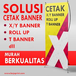 Cetak X/Y Banner, Roll Up Banner, T Banner