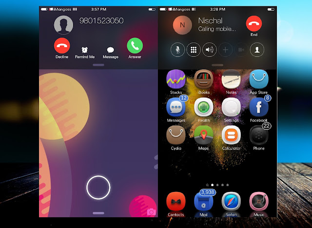CallBar is a whole new and complete dialer interface which can actually replace the Phone.app. In simple, CallBar don't let incoming calls which interrupts you.