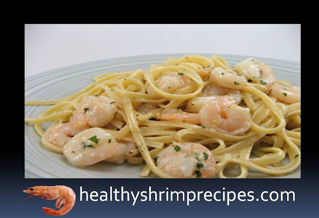 Garlic Pasta with Shrimps