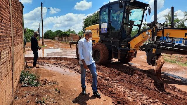 Presidente da Câmara de Cristalina, Jean Eustáquio, trabalha buscando melhores dias para população
