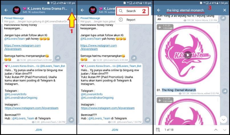 Cara Nonton Drakor Di Telegram Android Ios Dengan Mudah Klik Refresh