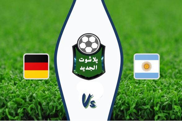 ملخص مباراة الأرجنتين وألمانيا أمس اليوم 9-10-2019 المباراة الودية