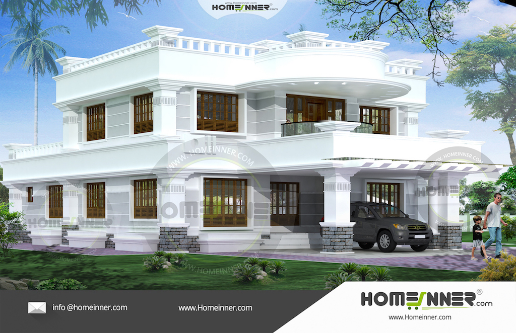 Kerala home design photos middle class