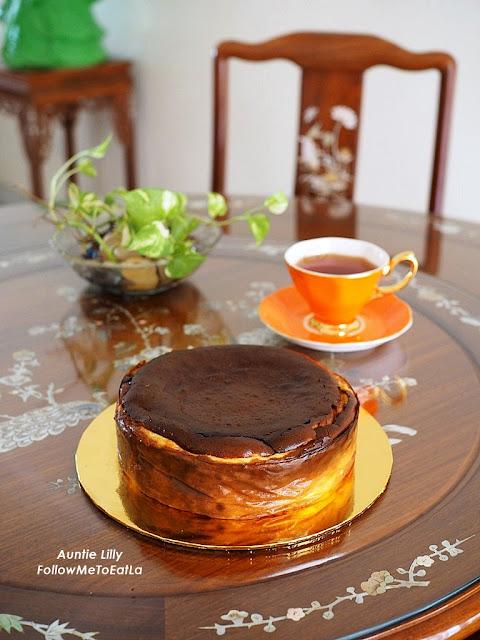 CakeRush Burnt Cheese Cake  RM 119