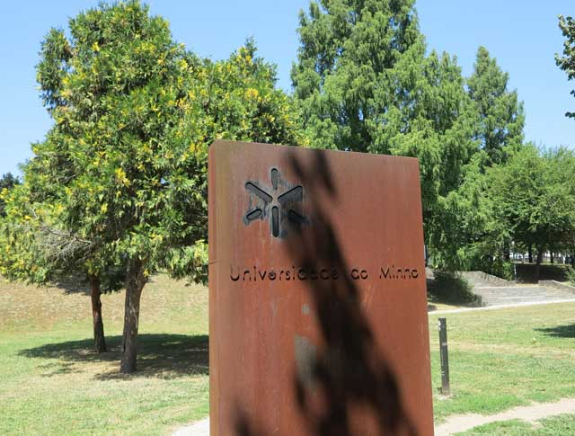 University of Minho (Universidade do Minho); Campus of Azurém, in Guimarães.