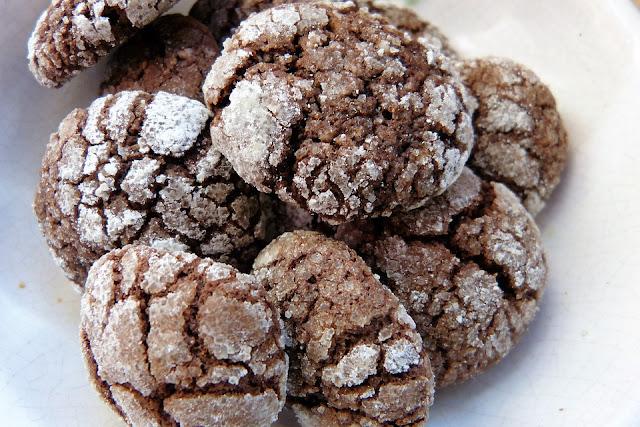 Ghriyba au semoule et cacao