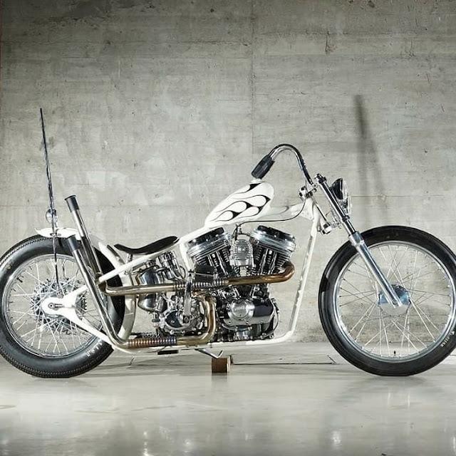 Harley Davidson Sportster By Greasy Bobber Speed Shop Hell Kustom