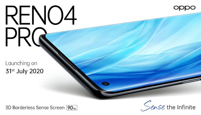 31 जुलाई को भारत में होगा लॉन्च Oppo Reno 4 Pro,कंपनी की पुष्टि