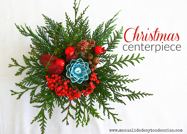 How to make a Christmas centerpiece