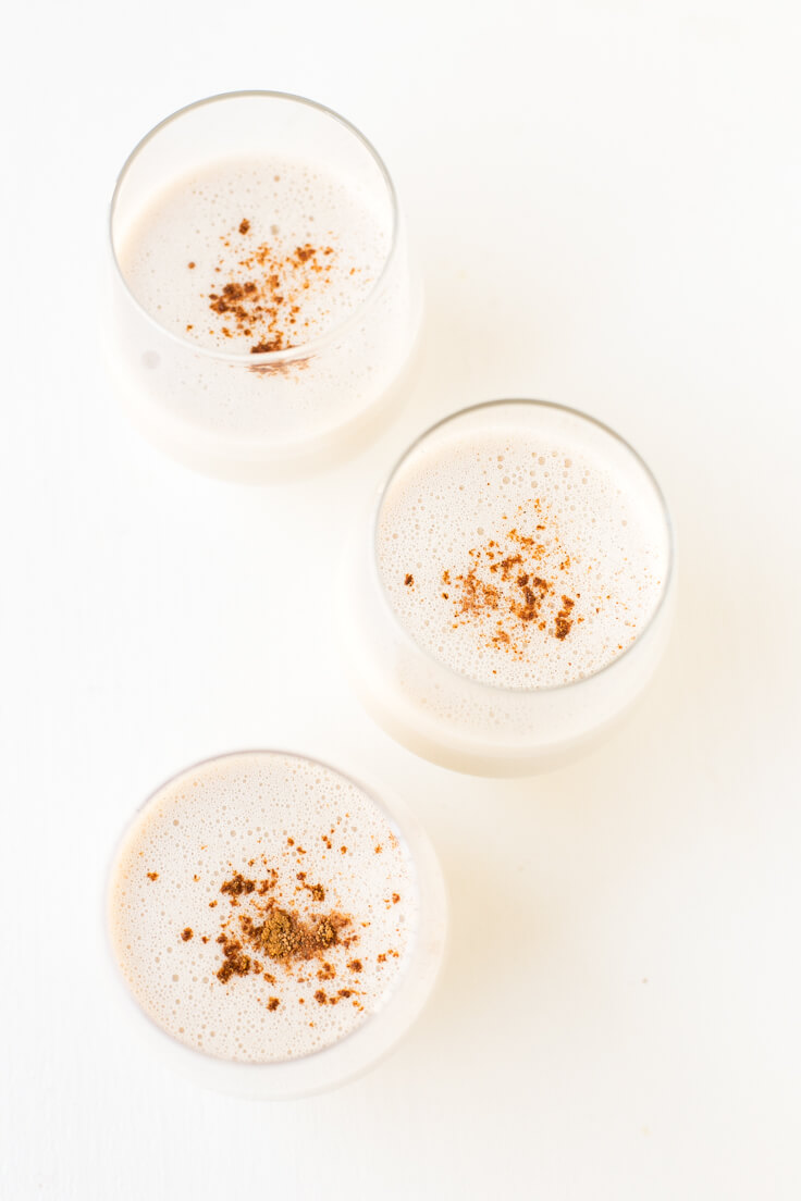 How To Make Vegan Eggnog | Eggnog is a typical North American drink and is very sweet and creamy. It is characteristic of Christmas, and it is delicious.