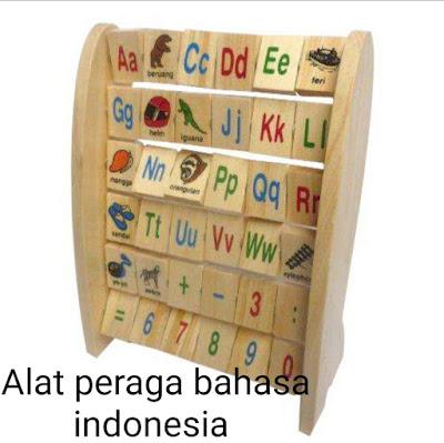 Alat Peraga Bahasa Indonesia