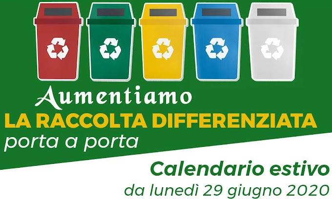 Raccolta differenziata, da oggi al via il nuovo calendario a Polistena