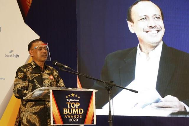 Perum Tugu Tirta Kota Malang Masuk Nominasi Top Bumd Awards 2021