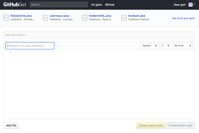 GitHub Gist