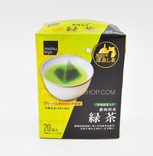 Trà xanh và Matcha Matsu Kiyo