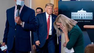 Gunshots rocks White House as Trump flees briefing