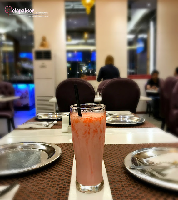 Strawberry Lasi from Royal Indian Curry House