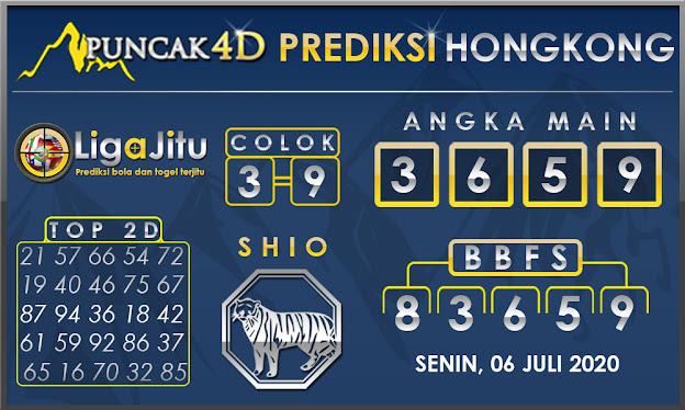 PREDIKSI TOGEL HONGKONG PUNCAK4D 06 JULI 2020
