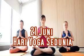 Tanggal 21 Juni Hari Yoga Sedunia
