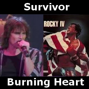 Survivor - Burning Heart chords