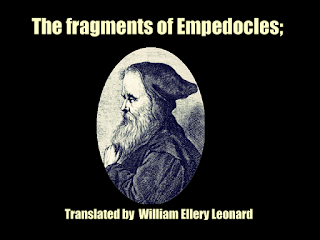 The fragments of Empedocles;