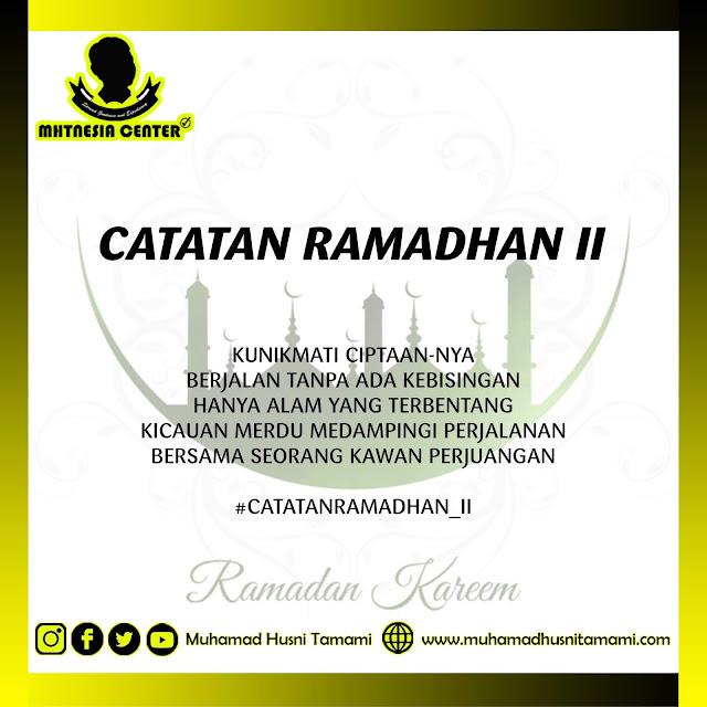 Catatan Ramadhan II