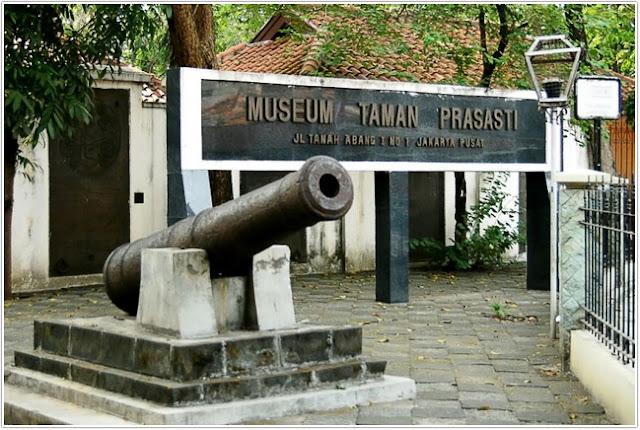 Museum Taman Prasasti;Destinasi Wisata Jakarta