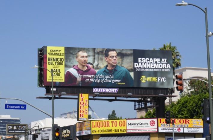 Escape at Dannemora Emmy nominees billboard