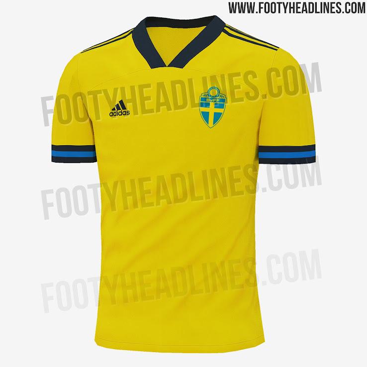 Sweden Euro 2020 Home Kit 2 | Áo Bóng Đá Sum Store