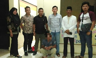 Kakek Bejat Pelaku Cabul di Ringkus Polres Lampung Utara