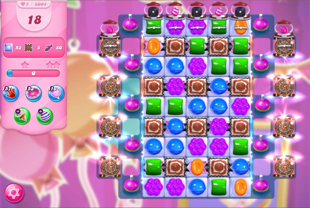 Candy Crush Saga level 6004