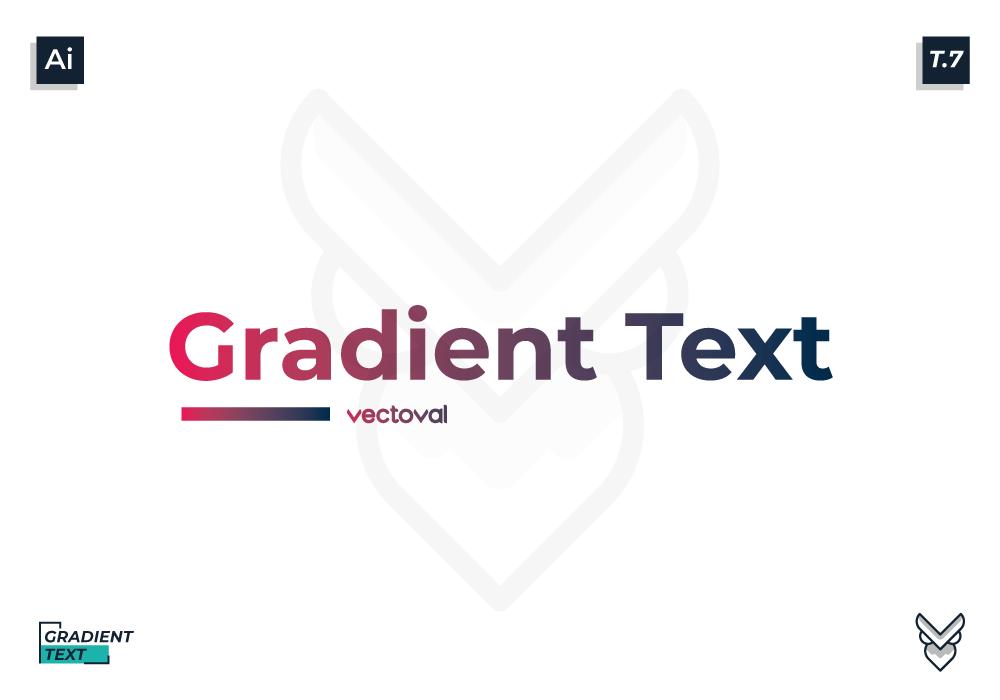 Membuat Warna Gradasi Pada Text Menggunakan Adobe Illustrator Vectoval