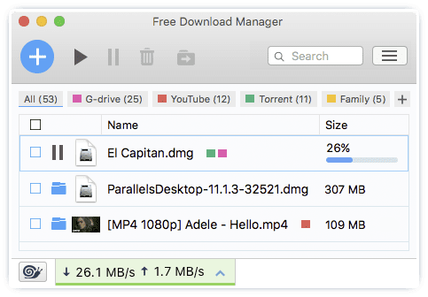 free download manager, FDM, download youtube videos