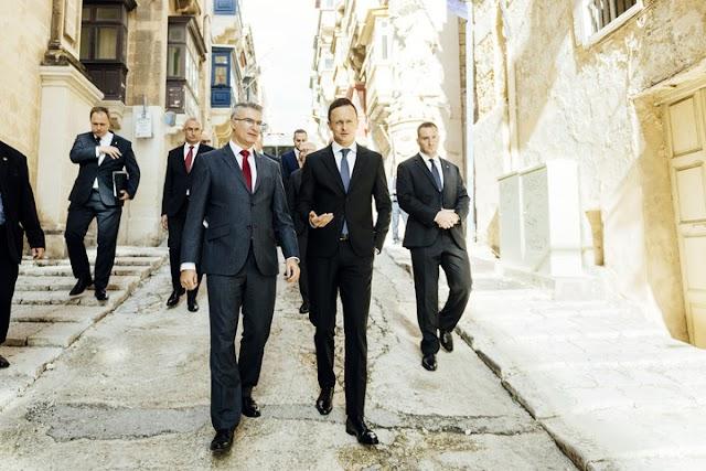Szijjártó Péter konzuli hivatalt nyitott meg Máltán