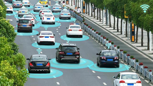 teknologi autonomos  pada mobil listrik