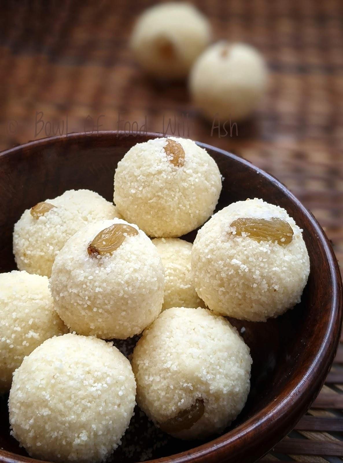 Rava ladoo recipe   How to make sooji laddu recipe