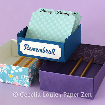 Memorydex Box and Index Cards
